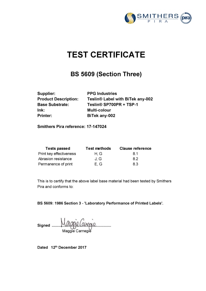 BS5609 certificate any-002